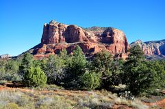 Red Rock of Sedona Royalty Free Stock Photography
