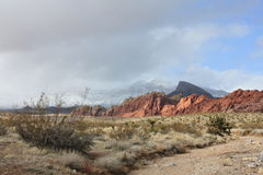 Red Rock State park Nevada Royalty Free Stock Photos