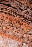 Red rock structure, texture Royalty Free Stock Image