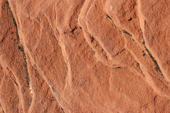 Red rock surface Stock Photos
