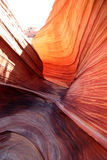 Red Rock Swirls Stock Image
