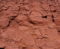 Red rock texture Royalty Free Stock Image