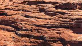 Red Rock Texture Stock Image