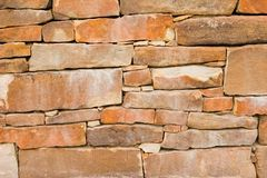Red rock texture 3. Red rock wall horizontal Stock Photos
