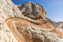 Red Rock Twists Royalty Free Stock Image