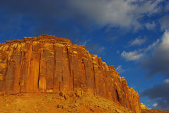 Red rock wall, Utah Royalty Free Stock Images