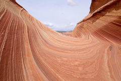 Red Rock Waves Royalty Free Stock Images