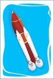 Red Rocket Stock Photos