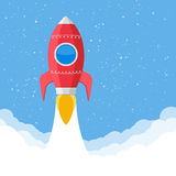 Red Rocket Royalty Free Stock Image