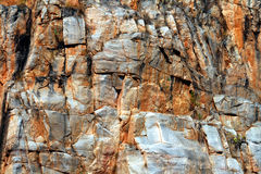 Red rockface Stock Photos