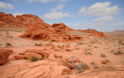 Red rocks Stock Image