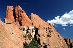 Red Rocks. Beautiful landscape in Red Rocks Colorado Stock Images
