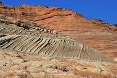 Red rocks. In Pariah Canyon, Utah, Vermillion Cliffs MN Royalty Free Stock Images