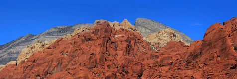 Red rocks royalty free stock photography