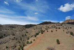 Red Rocks. View from on top of Red Rocks park near Denver, Colorado Royalty Free Stock Image