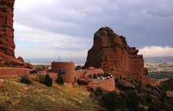 Red Rocks Amphitheater. In Colorado Stock Image