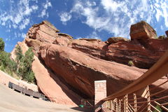 Red Rocks Amphitheater Royalty Free Stock Photo