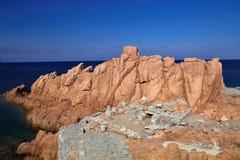 Red Rocks Arbatax, Sardinia, Italy. The red Rocks Arbatax, Sardinia, Italy Stock Images