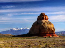Red Rocks, Arches National Park, Utah Stock Image