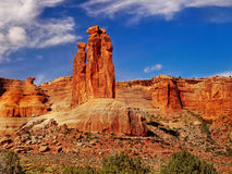 Red Rocks, Arches National Park, Utah Stock Images