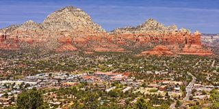 Red Rocks of Arizona Royalty Free Stock Images