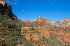 Red Rocks Around Sedona Arizona Royalty Free Stock Photo