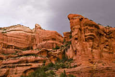 Red Rocks, Boynton Canyon Stock Image