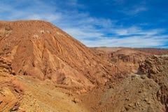 Red rocks desert mountain Stock Image