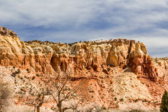 Red Rocks at Ghost Ranch, New Mexico Royalty Free Stock Images