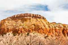 Red Rocks at Ghost Ranch, New Mexico Stock Photo