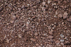 Red Rocks and gravel Texture Stock Image