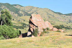 Red Rocks in Ken Caryl Ranch Stock Photography