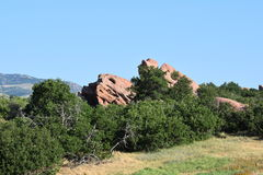 Red Rocks in Ken Caryl Ranch Royalty Free Stock Images