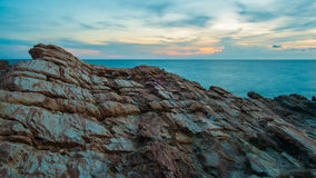 Red Rocks at Khao Laem Ya National. Park in Rayong, Thailand Stock Photos