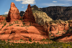 Red Rocks Lady Sedona Stock Images