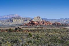 Red Rocks near Kodachrome Basin Stock Image