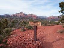 Red Rocks near Sedona Arizona Stock Photo
