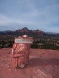Red Rocks near Sedona Arizona Stock Image