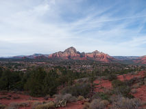 Red Rocks near Sedona Arizona Stock Image