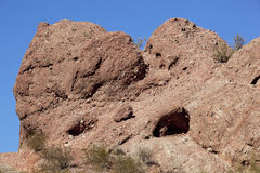 Red Rocks of Papago Stock Photos
