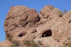 Red Rocks of Papago Stock Photos