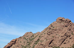 Red Rocks of Papago Stock Photo