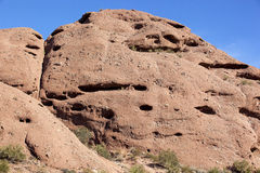 Red Rocks of Papago Royalty Free Stock Images