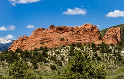 Red Rocks Park Colorado royalty free stock photography