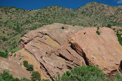 Red Rocks Park in Colorado Royalty Free Stock Photography