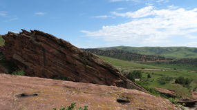 Red Rocks Park. Red Rocks state park and amphitheater just outside of Denver, Colorado Royalty Free Stock Photo