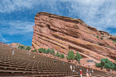 Red Rocks Park Stock Image