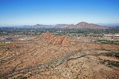 Red Rocks of Phoenix Stock Images