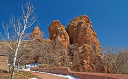 Red Rocks at Roxborough Royalty Free Stock Photos
