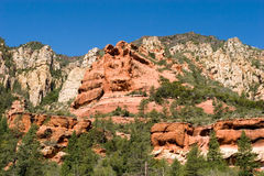 Red Rocks scenic view in Sedona Stock Photography